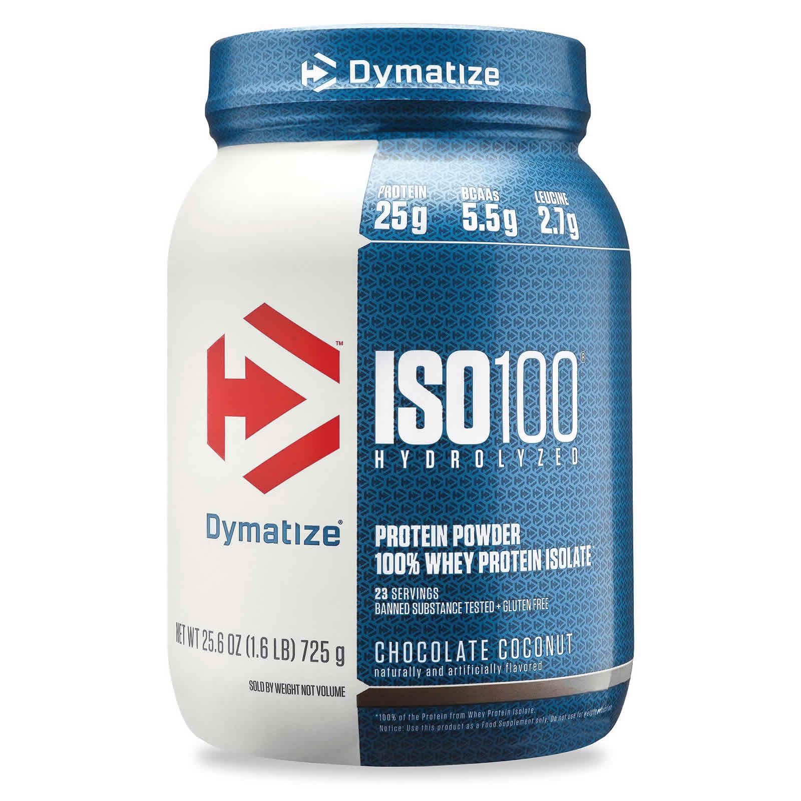 מקורי Dymatize ISO100 Whey Protein Powder - 1.6 lbs | Protein SuperMart KC-72