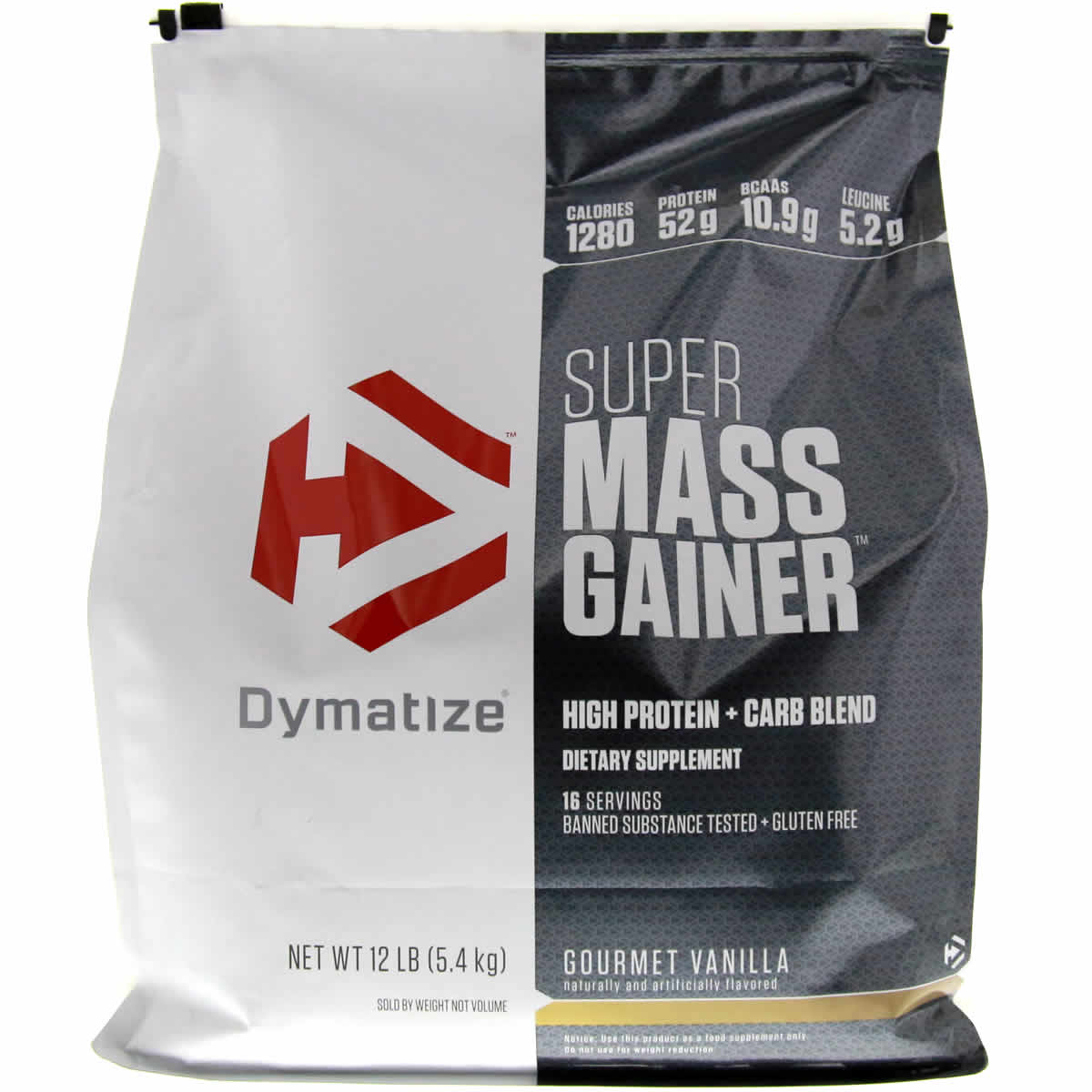 Dymatize Nutrition Super Mass Gainer 12 Lbs Protein