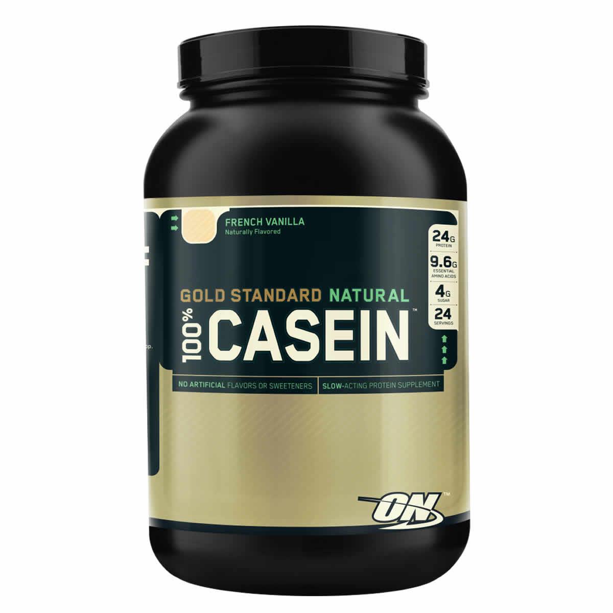 Natural casein protein powder